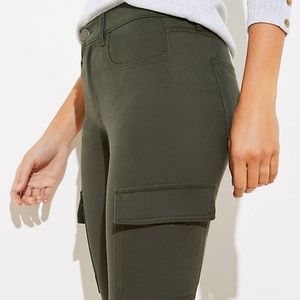 LOFT Pants & Jumpsuits - LOFT Women's NWT 5 Pocket Sateen Cargo Leggings